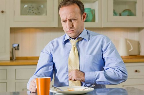 Нарушение прохождения пищи