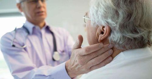 Осмотр пациента врачом