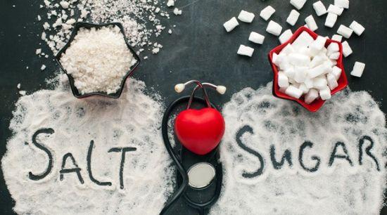 Ограничение соли и сахара