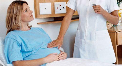 Беременная в стационаре