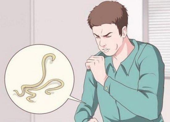 Кашель при гельминтозе