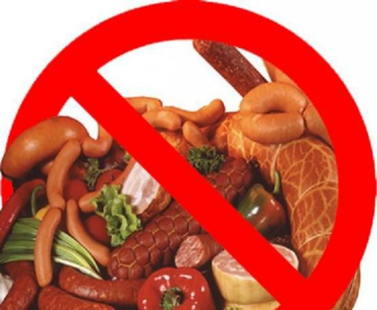 Колбасы под запретом