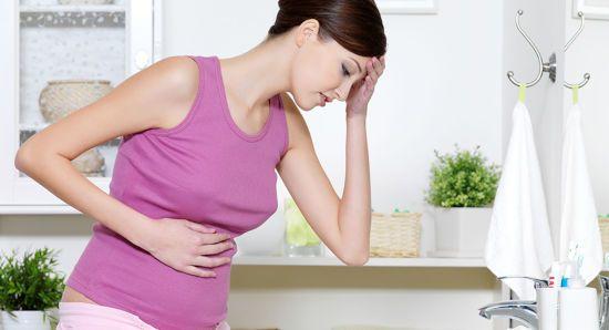 Беременной женщине тошнит