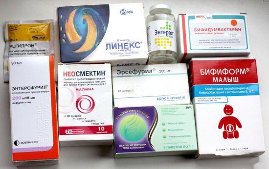 Лекарства от диареи