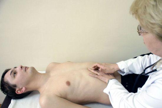 Пальпация брюшной полости