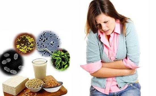 Бактерии и боль в животе