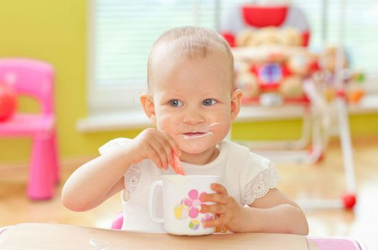 Питание годовалого ребенка