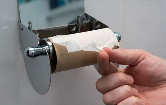 Закончилась туалетная бумага