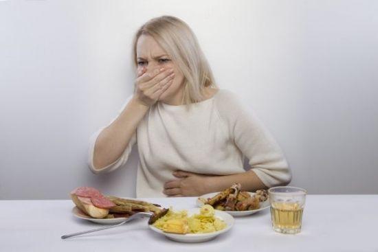 Тошнота во время еды
