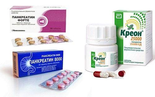 Креон, Панкреатин