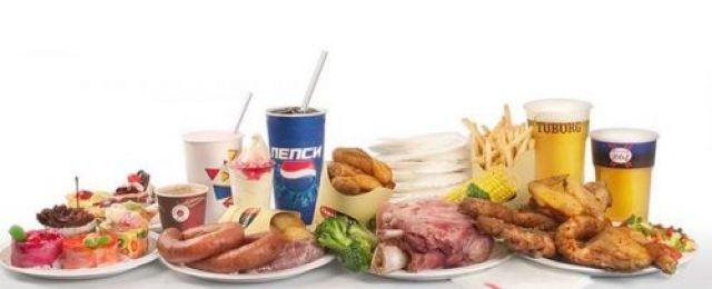 Жареная и жирная пища