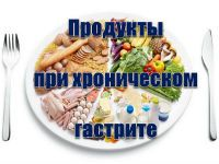 Питание при хроническом гастрите