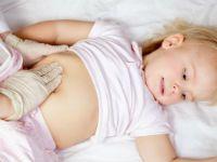 Пальпация живота ребенка